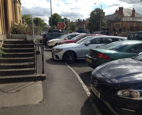 Carks parked